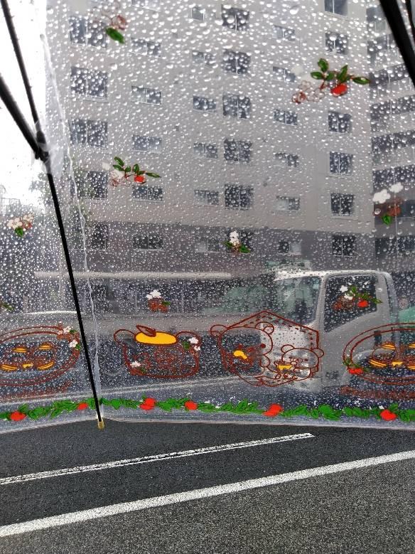 寒い雨(:.´艸`:.)