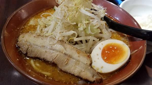 辛味噌カレーラーメン☆