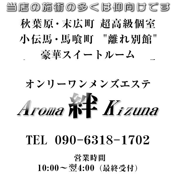 秋葉原メンズエステ AROMA KIZUNA~アロマ絆~